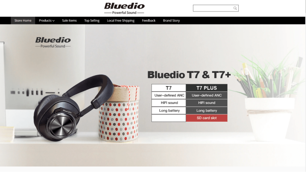 16. Bluedio-best & top headphones and earphones brands on aliexpress