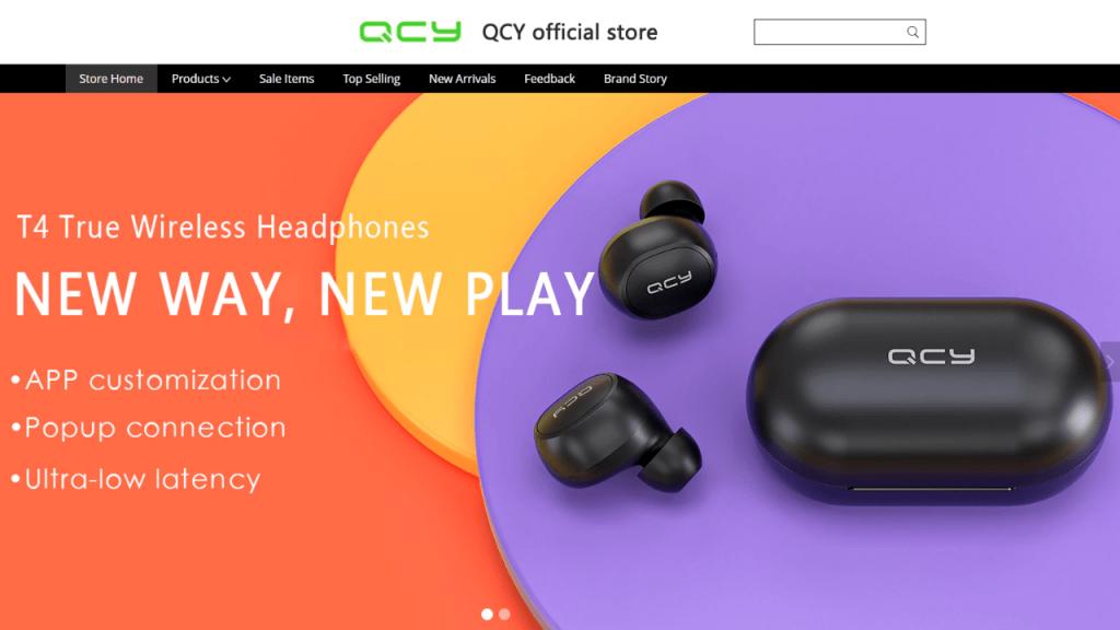 19. QCY-best & top headphones and earphones brands on aliexpress