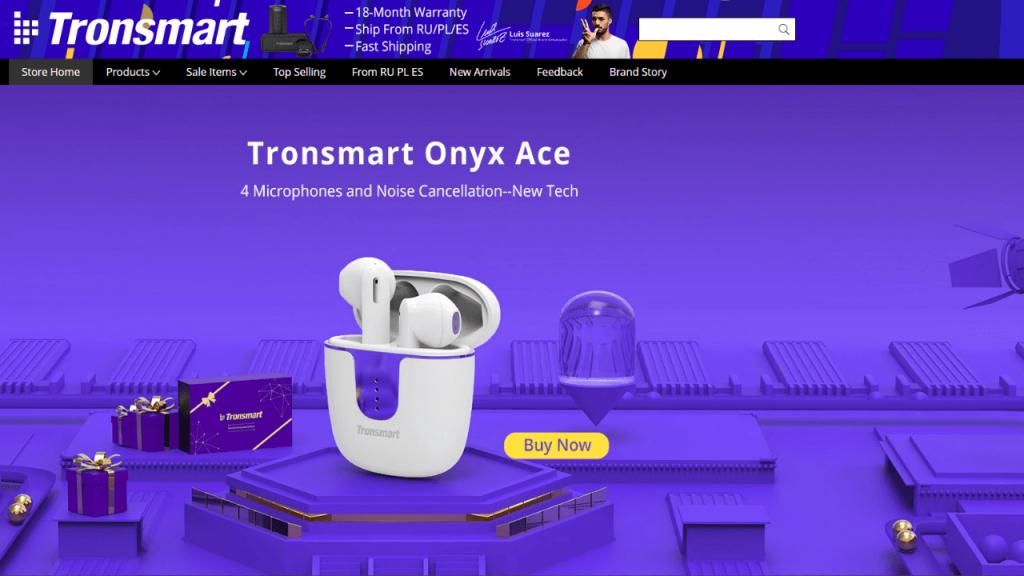 20. Tronsmart-best & top headphones and earphones brands on aliexpress
