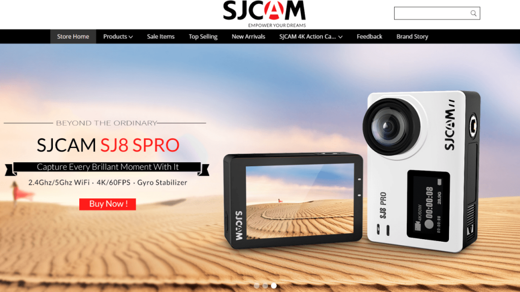 21. SJcam-best & top consumber electronics brands on aliexpress
