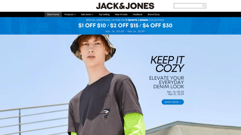 32. Jacj Jone-best & top men fashion brands on aliexpress