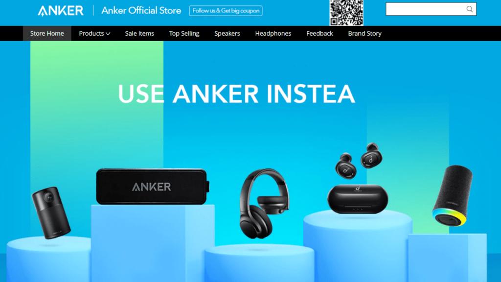 6. Anker-best & top brands on aliexpress