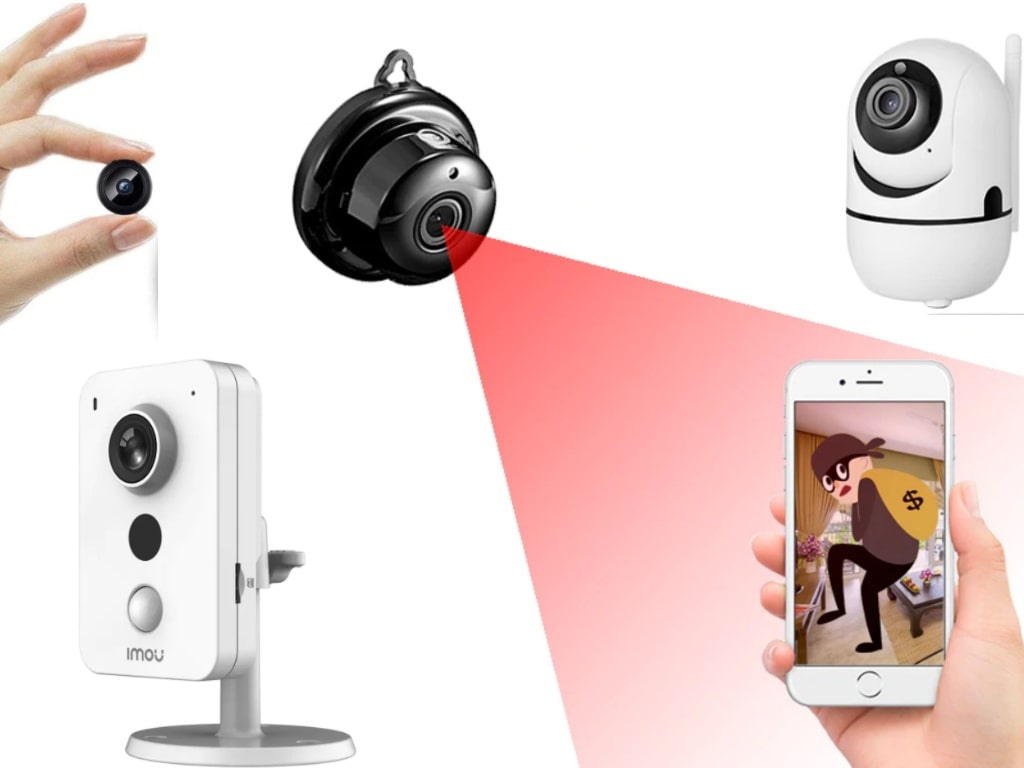 Mini IP Motion Detect Camera-best products on aliexpress