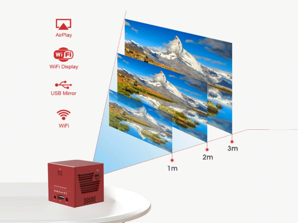 Mini Portable Projector for Smartphones-best products on aliexpress