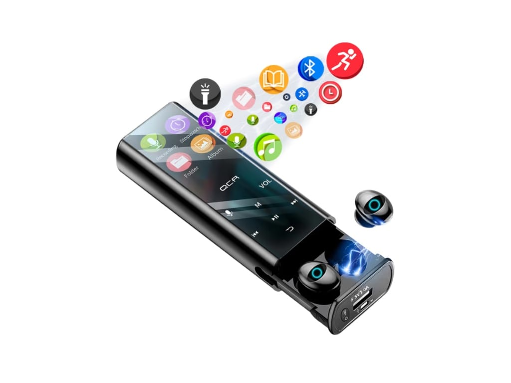 Multi-function MP3 Player with Bluetooth Earphones-best products on aliexpress