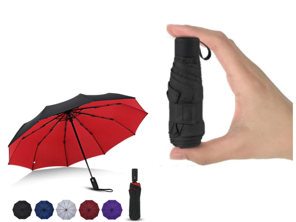 Pocket-Sized UV Umbrella-best gadgets on aliexpress