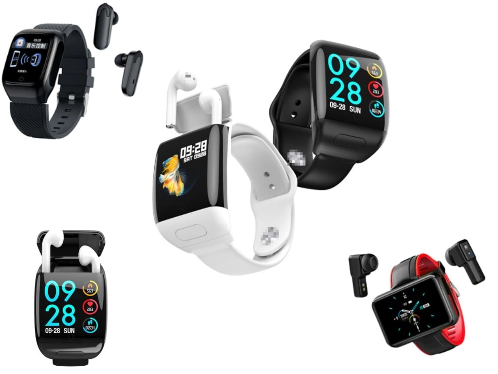 Smartwatch with Bluetooth Earphone-best items on aliexpress
