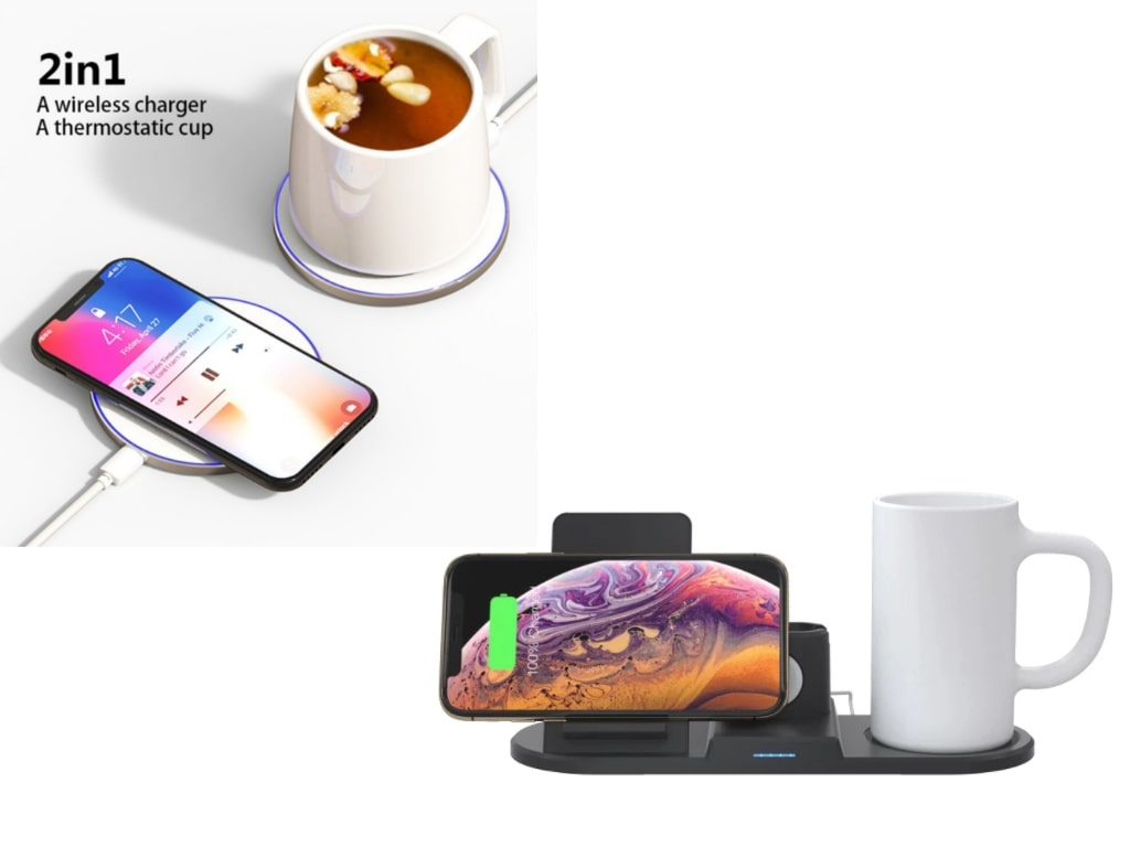 Thermostatic Cup with Qi Wireless Charger-best things on aliexpress